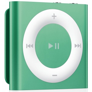Apple iPod shuffle 4 2gb green (MD776)